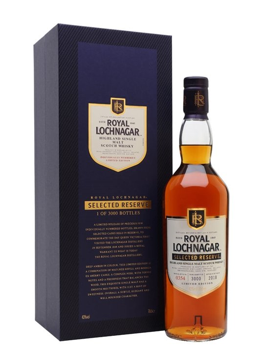 Royal Lochnagar Selected Reserve / Bot.2018 Highland Whisky