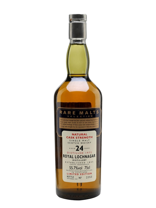 Royal Lochnagar 1972 / 24 Year Old / Rare Malts Highland Whisky
