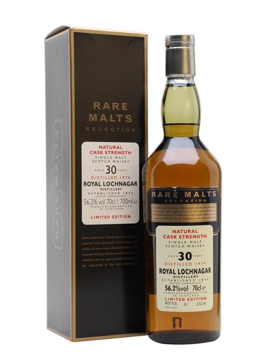 Royal Lochnagar 1974 / 30 Year Old / Rare Malts Highland Whisky