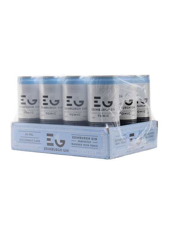 Edinburgh Gin & Tonic / Case of 12 Cans