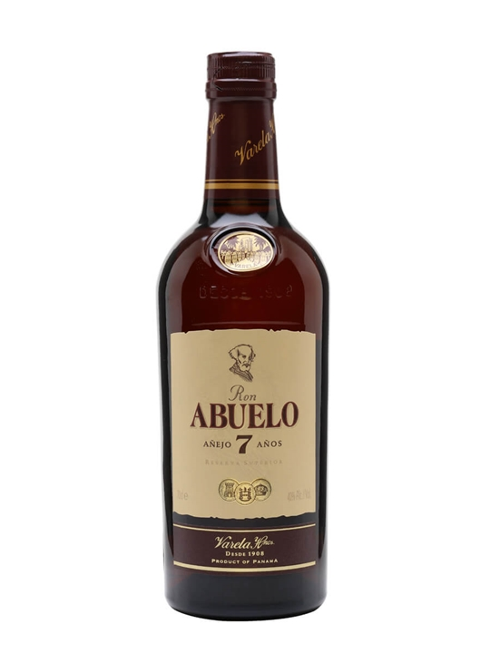 Ron Abuelo 7 Year Old Anejo Rum Single Modernist Rum