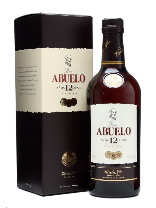 Ron Abuelo 12 Year Old Anejo Rum Single Modernist Rum