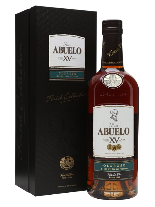 Ron Abuelo 15 Year Old Oloroso Cask Finish Single Modernist Rum