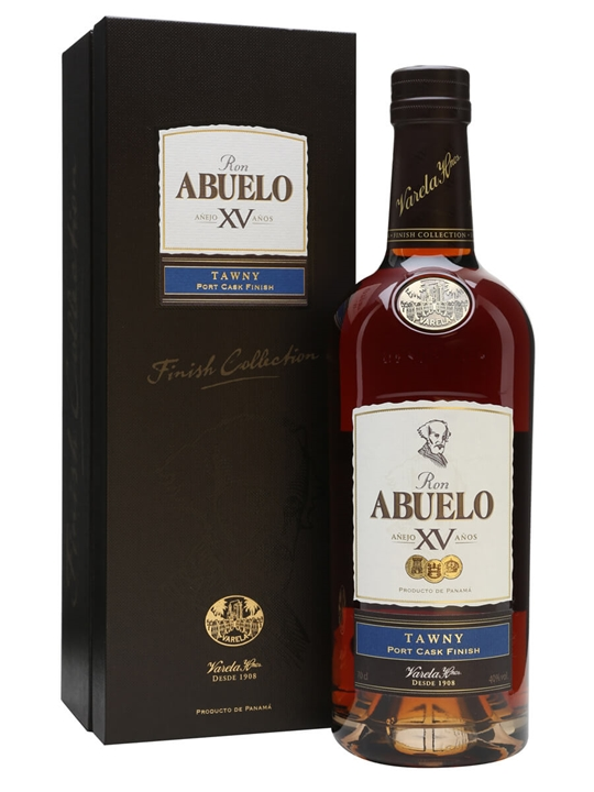 Ron Abuelo 15 Year Old Tawny Port Finish Single Modernist Rum