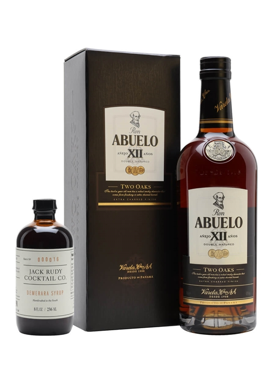 Ron Abuelo 12 Year Old / Two Oaks Single Modernist Rum