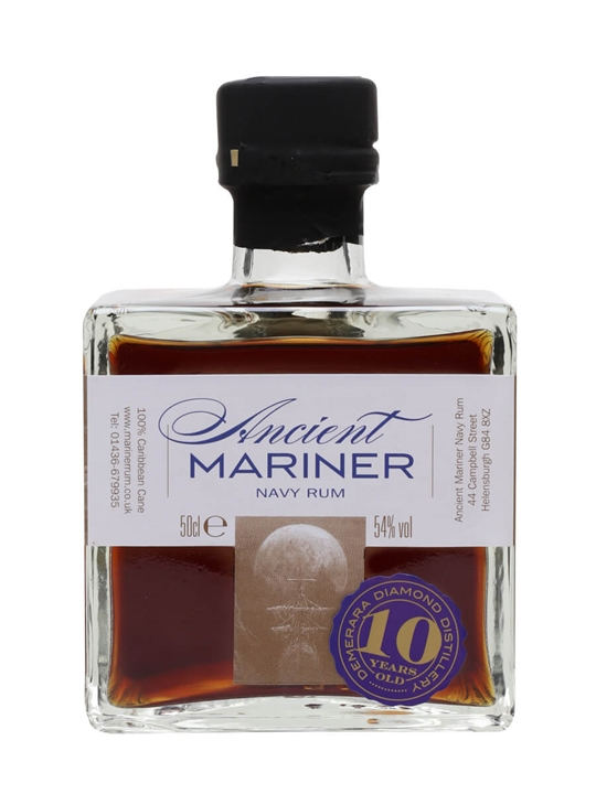 Ancient Mariner 10 Year Old Navy Rum / Diamond Distillery