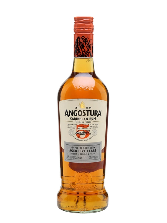 Angostura 5 Year Old / Gold Rum Single Modernist Rum