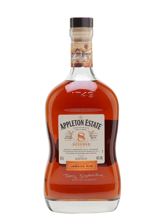 Appleton Estate 8 Year Old Reserve Single Traditional Blended Rum