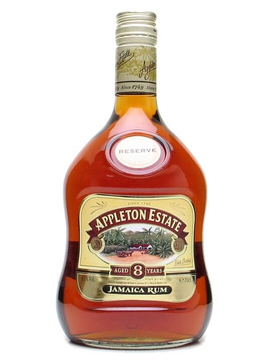 Appleton Estate Reserve 8 Year Old Rum Single Traditional Blended Rum