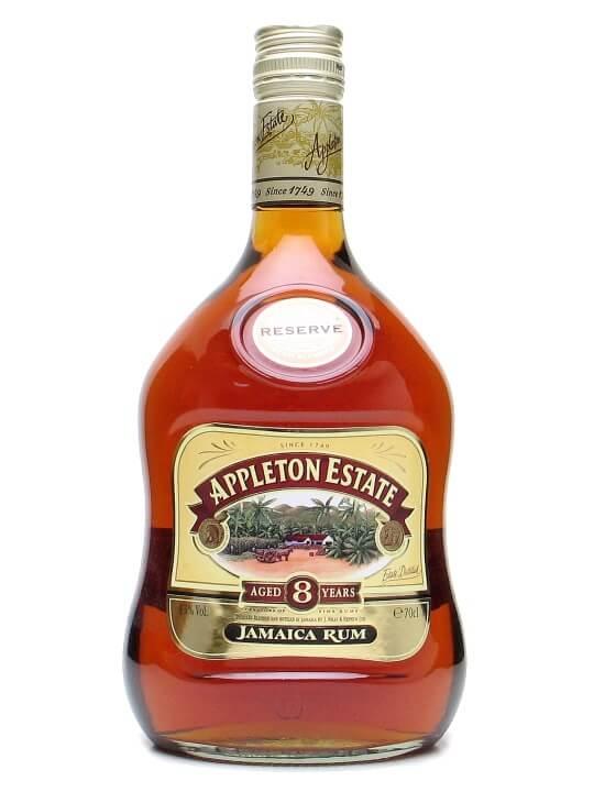 Appleton Estate Reserve 8 Year Old Rum Single Traditional Blended Rum