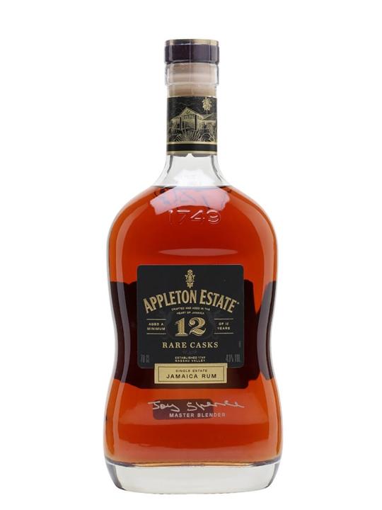 Appleton Estate 12 Year Old Rare Casks Single Traditional Blended Rum