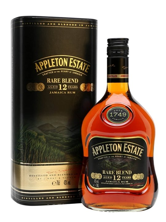 Appleton Estate 12 Year Old Rare Blend Single Traditional Blended Rum