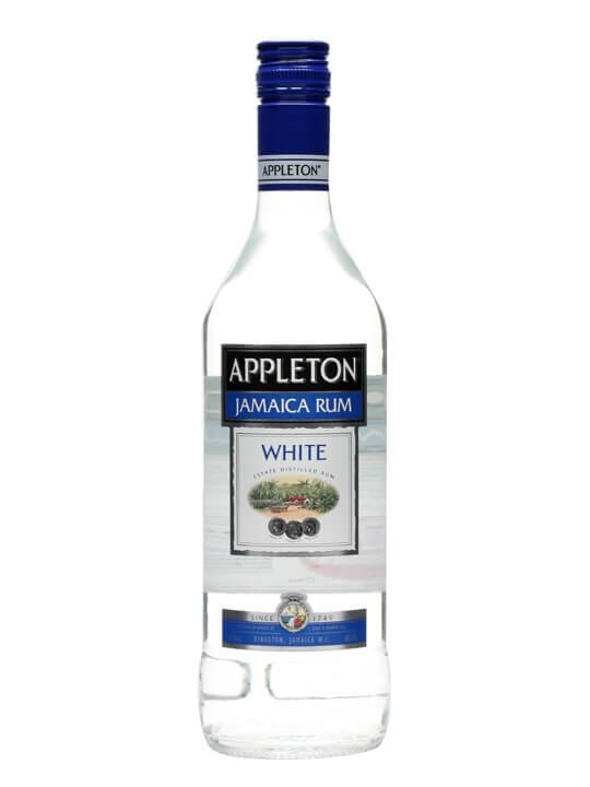 Appleton White Rum Single Traditional Blended Rum
