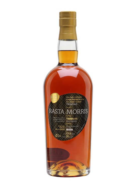 Trinidad 2003 / 15 Year Old / Asta Morris Single Modernist Rum
