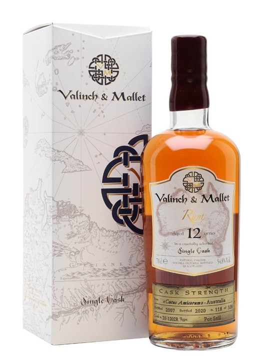 Australian 12 Year Old Rum / Valinch & Mallet
