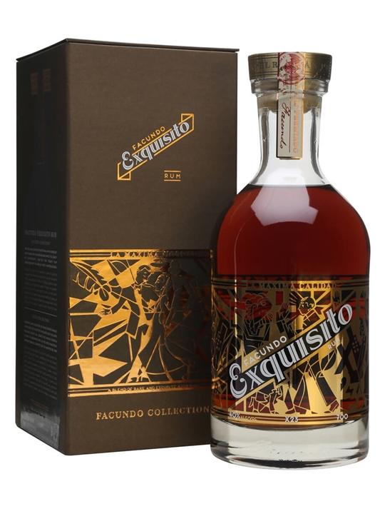 Bacardi Facundo Exquisito Rum Single Modernist Rum