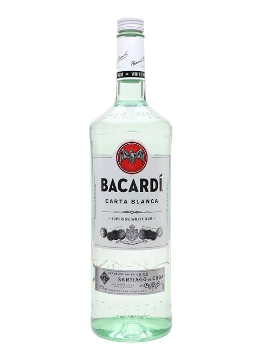 Bacardi Superior Carta Blanca Rum Single Modernist Rum