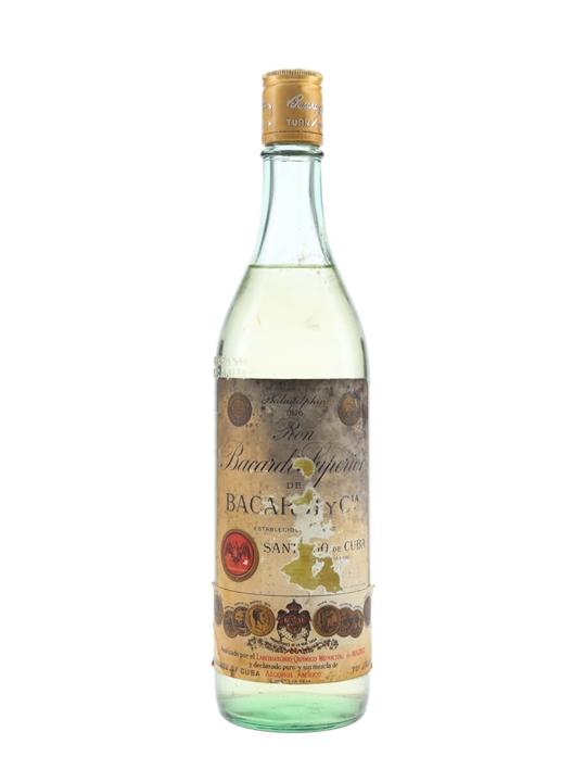 Bacardi Superior Rum (Cuba) / Bot.1950s