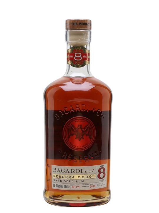 Bacardi 8 Year Old / Carta Ocho Single Modernist Rum