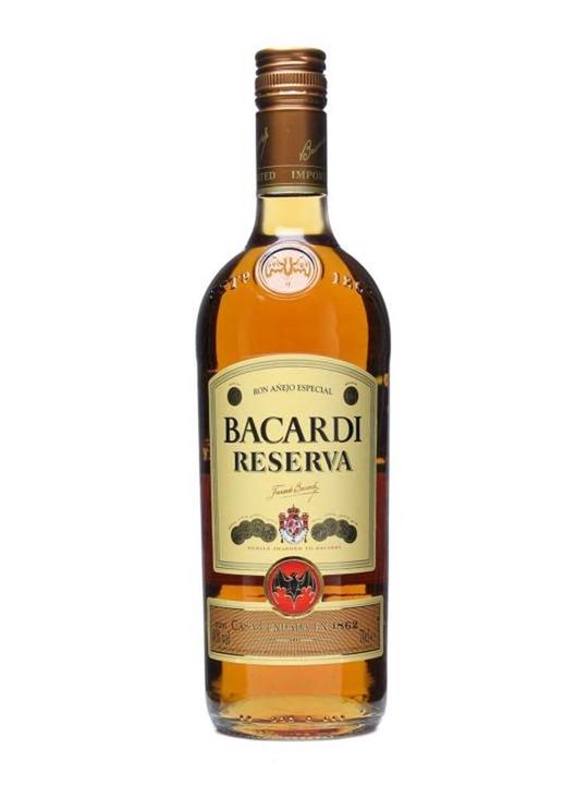 Bacardi Reserva Rum  Anejo Especial