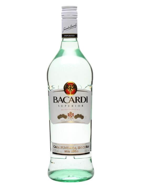 Bacardi Superior Rum / Litre