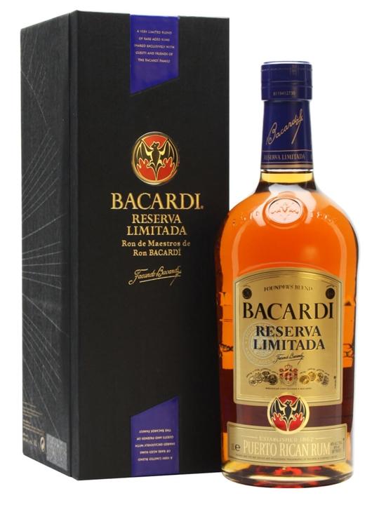Bacardi Reserva Limitada Rum Single Modernist Rum