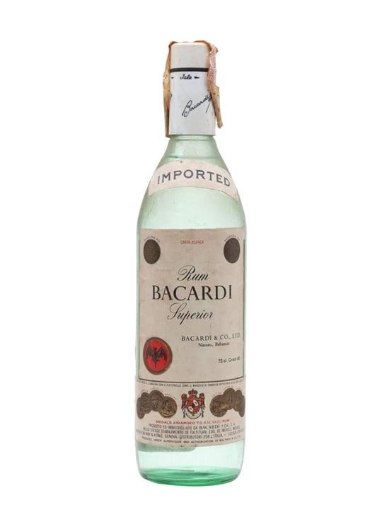 Bacardi Superior Rum (Bahamas) / Bot.1970s