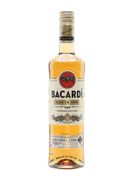 Bacardi Carta Oro Gold Rum Single Modernist Rum