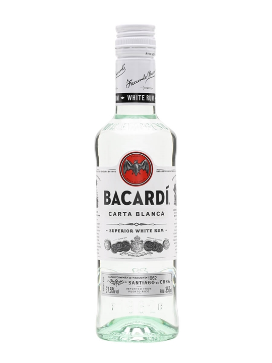 Bacardi Carta Blanca / Half Bottle