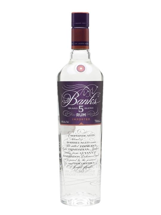Banks 5 Island Rum Blended Modernist Rum