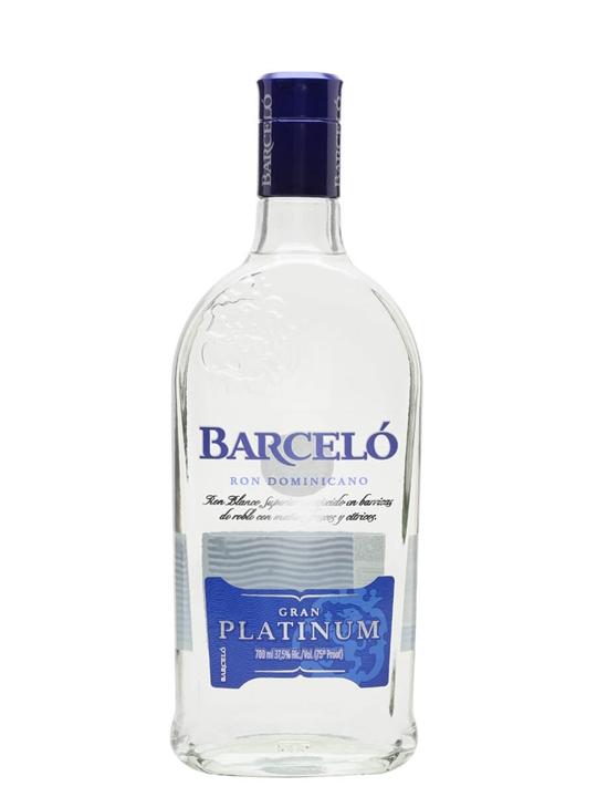 Barcelo Gran Platinum Rum Single Modernist Rum
