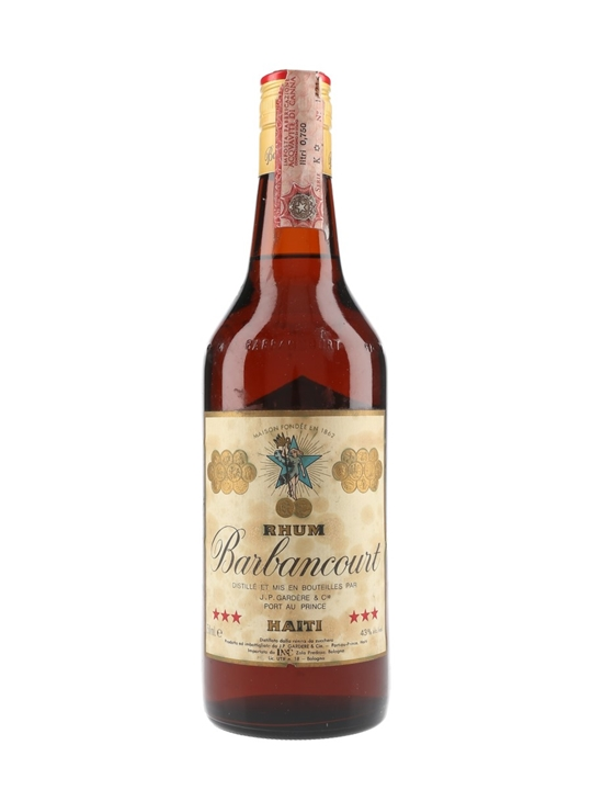 Barbancourt 3 Star Rum / 4 Year Old / Bot.1970s