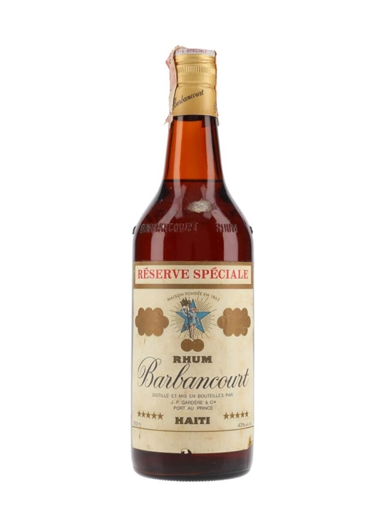 Barbancourt 5 Star Rum / Bot.1970s