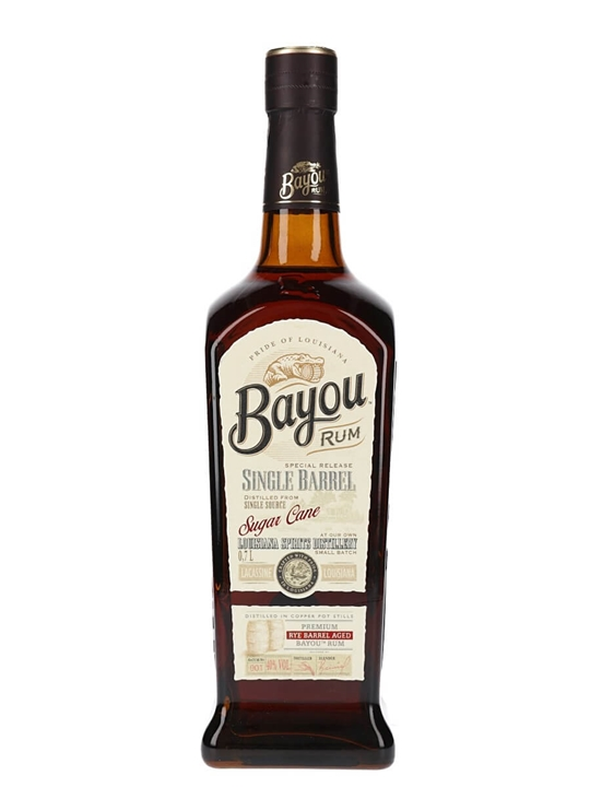 Bayou Single Barrel Rum Single Traditional Pot Rum