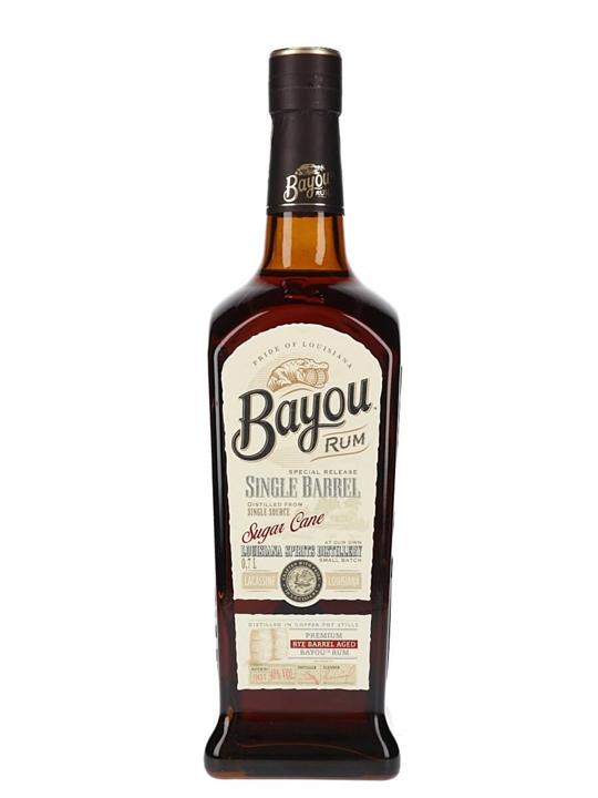 Bayou Single Barrel Rum Single Traditional Pot Rum