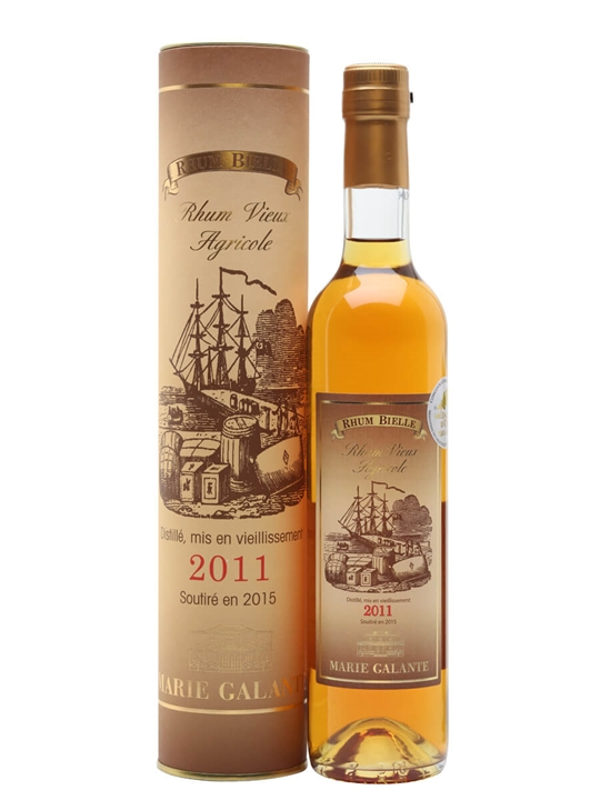 Bielle 2011 Rum Single Traditional Column Rum