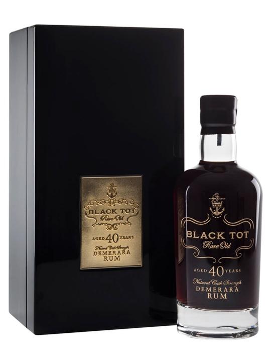 Black Tot 40 Year Old Rum Blended Traditionalist Rum