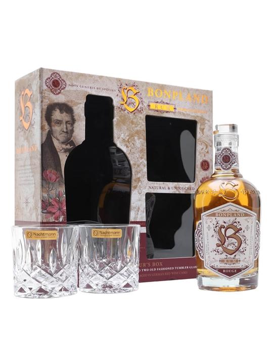 Bonpland Rum Rouge / Connoisseurs Gift Set Blended Modernist Rum
