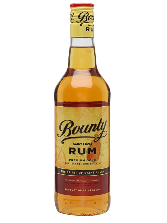 Bounty Gold Rum Single Traditional Column Rum