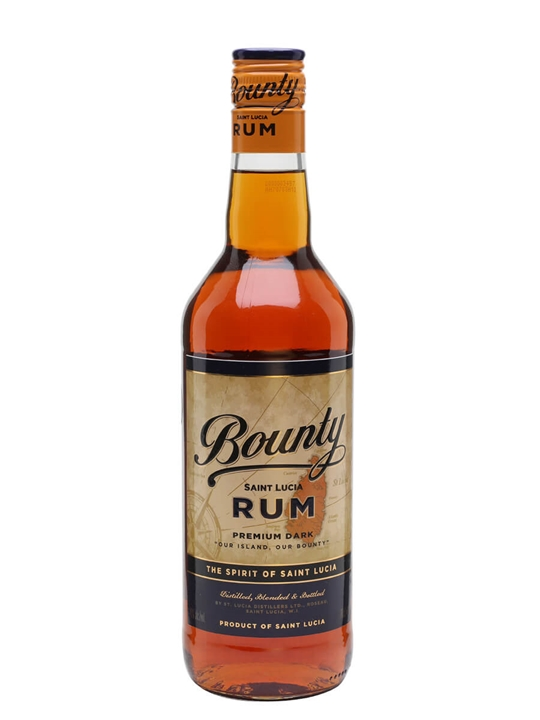 Bounty Dark Rum Single Traditional Blended Rum