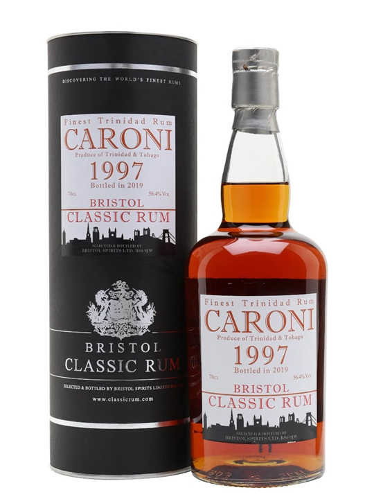 Caroni 1997 / Bot.2019 / Bristol Rums Single Traditional Column Rum