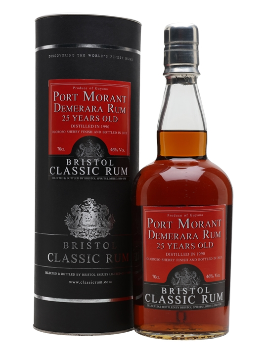 Port Morant 1990 / 25 Year Old / Sherry Finish / Bristol Rum