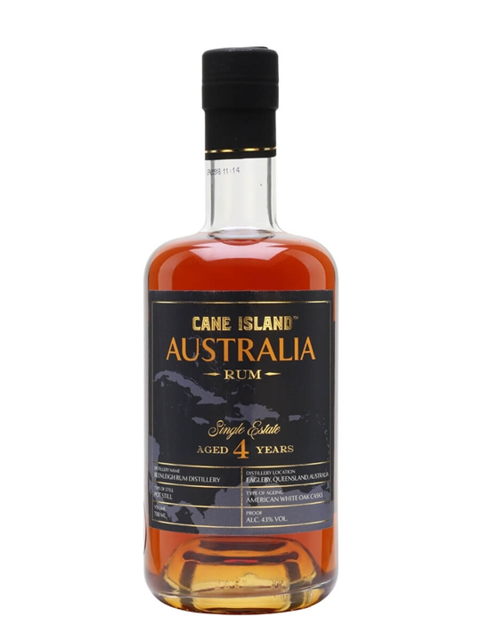 Cane Island Australia 4 Year Old Single Traditional Pot Still Rum