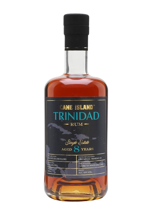 Cane Island Single Estate Trinidad 8 Year Old Rum Single Modernist Rum