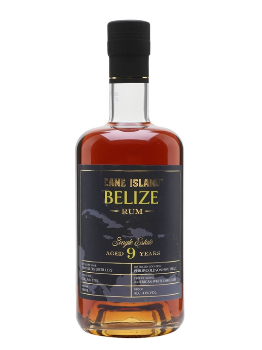 Cane Island Single Estate Belize 9 Year Old Rum Single Modernist Rum