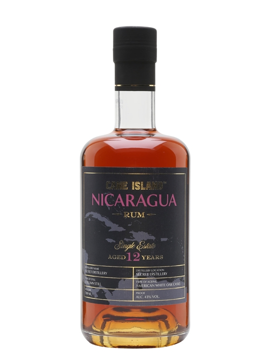 Cane Island Single Estate Nicaragua 12 Year Old Rum