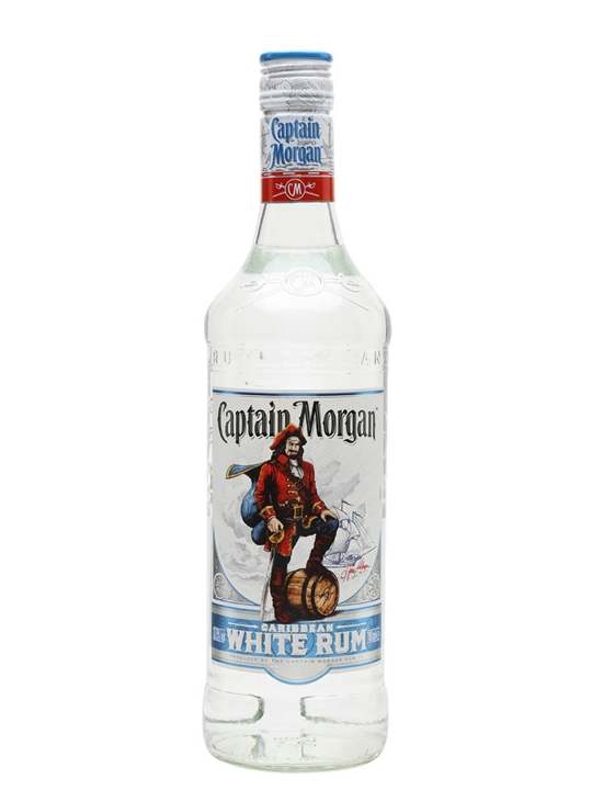 Captain Morgan White Rum Single Traditional Blended Rum