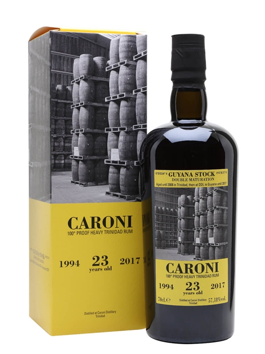 Caroni 1994 / 23 Year Old Single Traditional Column Rum