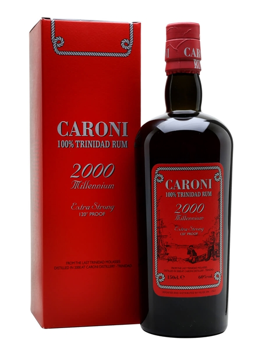 Caroni 2000 / 15 Year Old / Millennium Single Traditional Column Rum