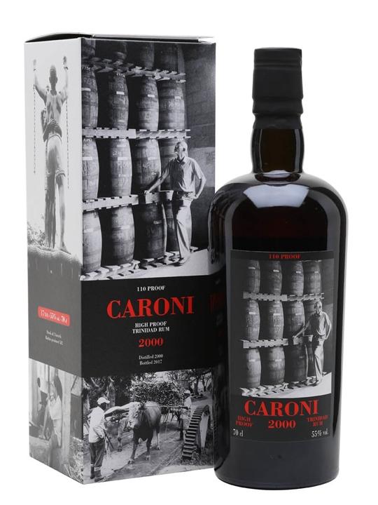Caroni 2000 / 17 Year Old Single Traditional Column Rum